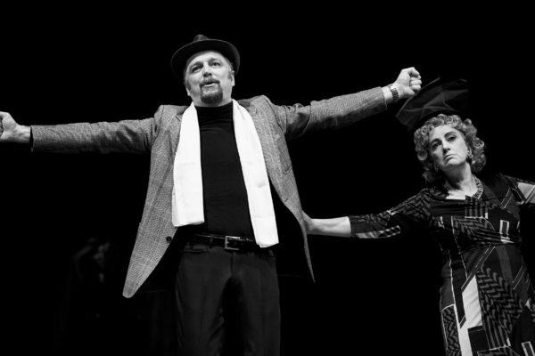 Recita dell'attore Vecchiatto nel teatro di Rio Saliceto | La Libertà online