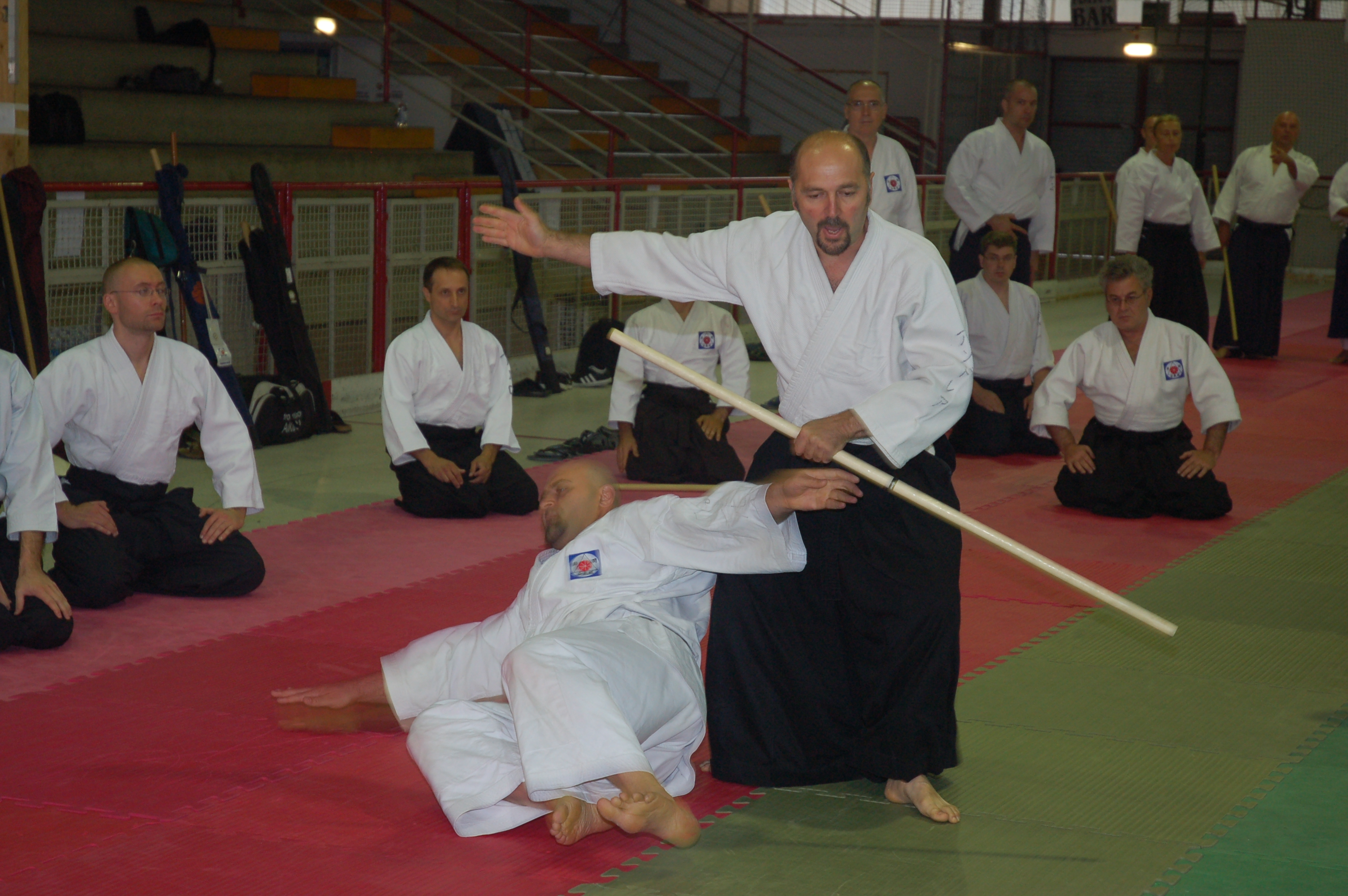 Aiki-training per attori