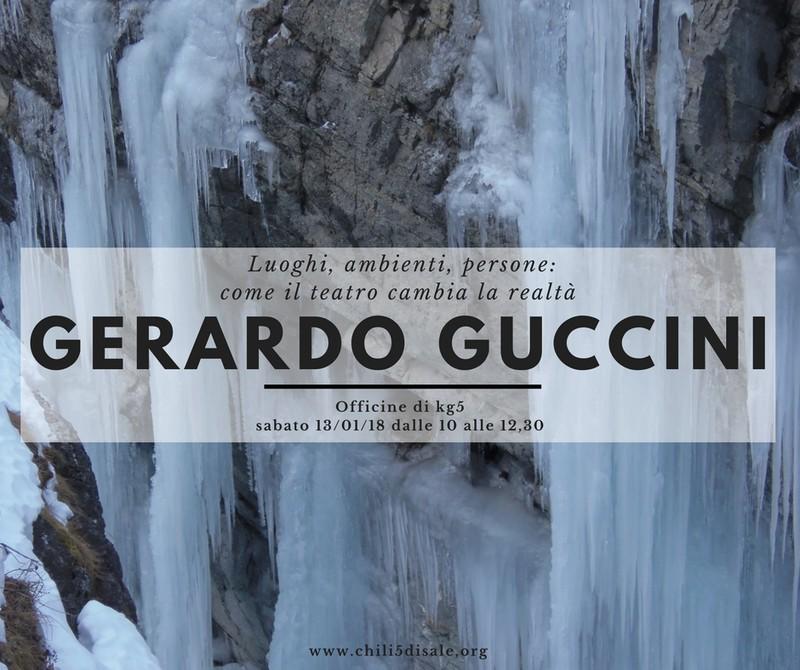 Il prof. Gerardo Guccini alle Officine di Kg5!