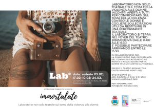 immortalate card lab teatro
